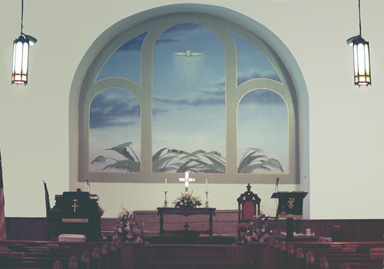 Cazenovia Methodist Church Mural